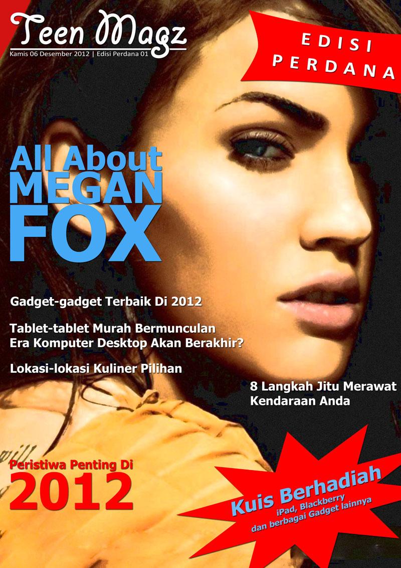 Contoh Layout Majalah Contoh Cover Majalah Part.2