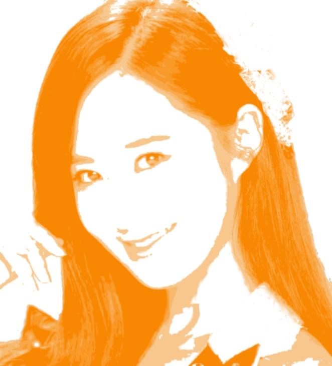 kwon yuri artwork treshold photoshop